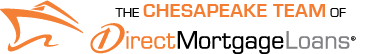 The Chesapeake Team of Direct Mortgage Loans Logo